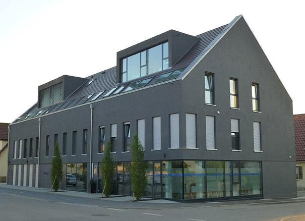 Fassade glas  Alu-Glas-Fassade - Leistungsprofil - LEEB Aluminiumbau GmbH